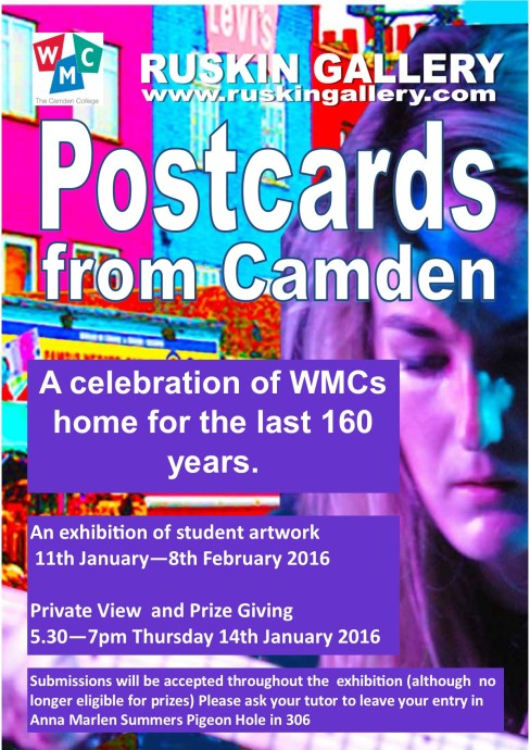 postcards poster