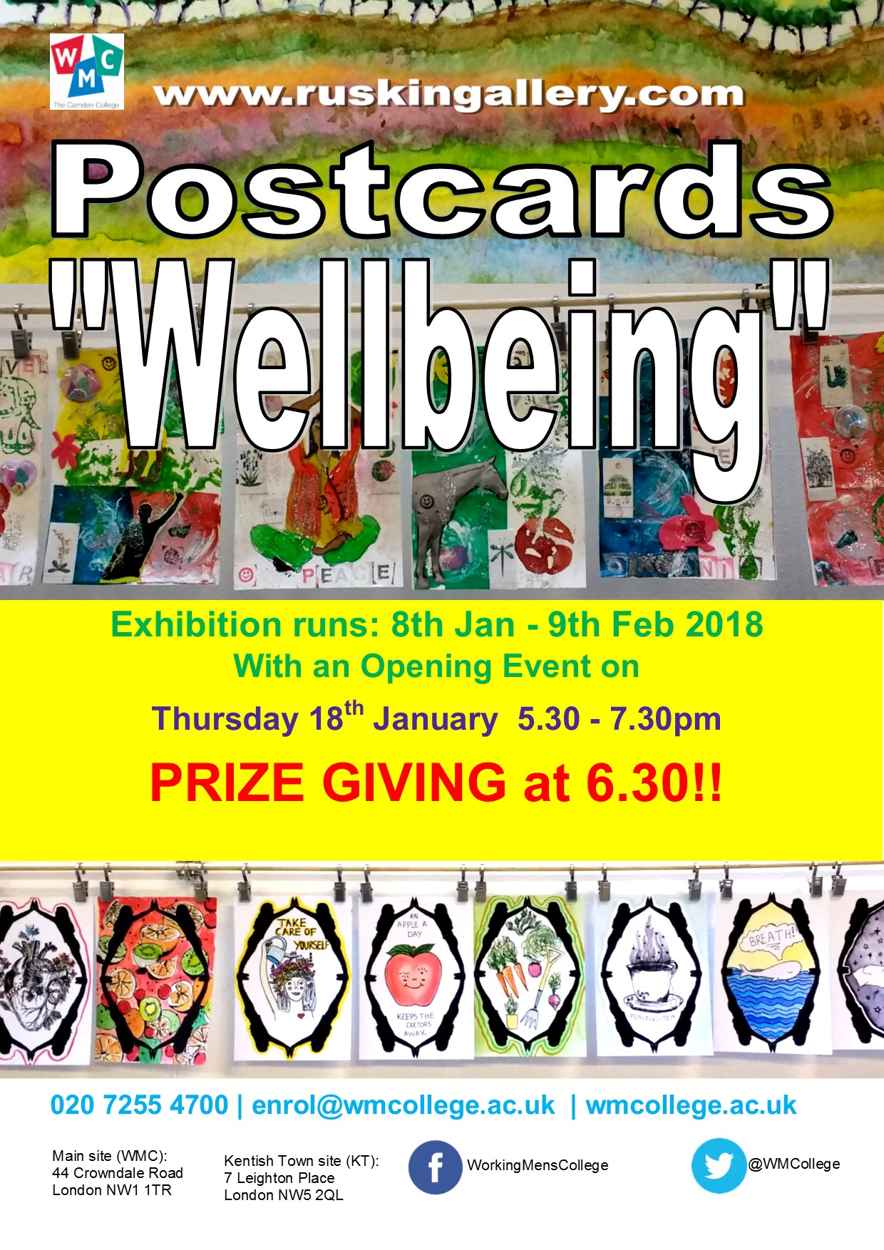 Postcards show 2018 – Welbeing